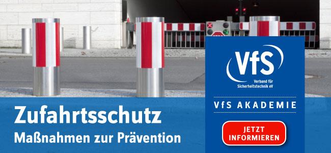 VfS Akademie Zufahrtsschutz Seminar