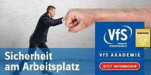 VfS-Seminar Sicherheit am Arbeitsplatz März 2020