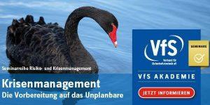 Krisenmanagement - VfS Akademie - Seminar