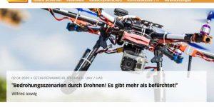 Wilfriedm Joswig - Bedrohungsszenarien durch Drohnen! Es gibt mehr als befürchtet!