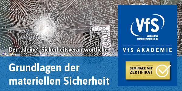 VfS-Seminar Grundlagen der materiellen Sicherheit